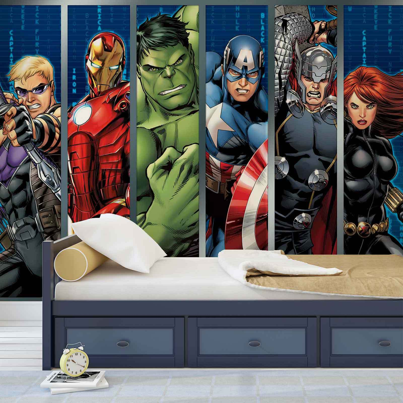 VLIES FOTOTAPETE Marvel Avengers TAPETE MURAL (964FW)