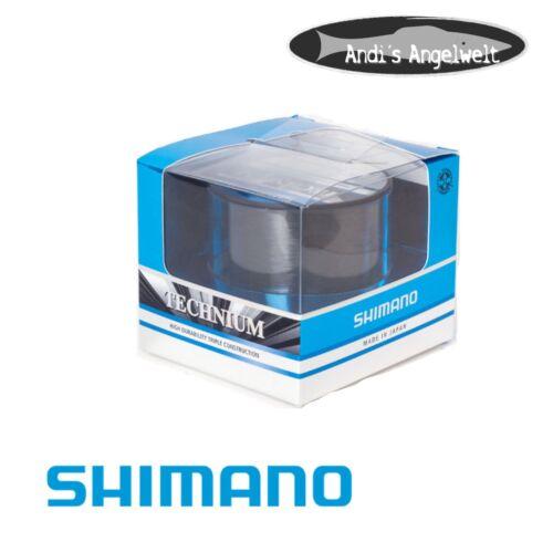 verschiedene Stärken Angelschnur//Karpfenschnur Shimano Technium Schnur 300m