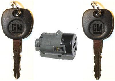 W// 2 OEM GMC Logo Keys NEW GMC GM OEM Ignition Key Switch Lock Cylinder