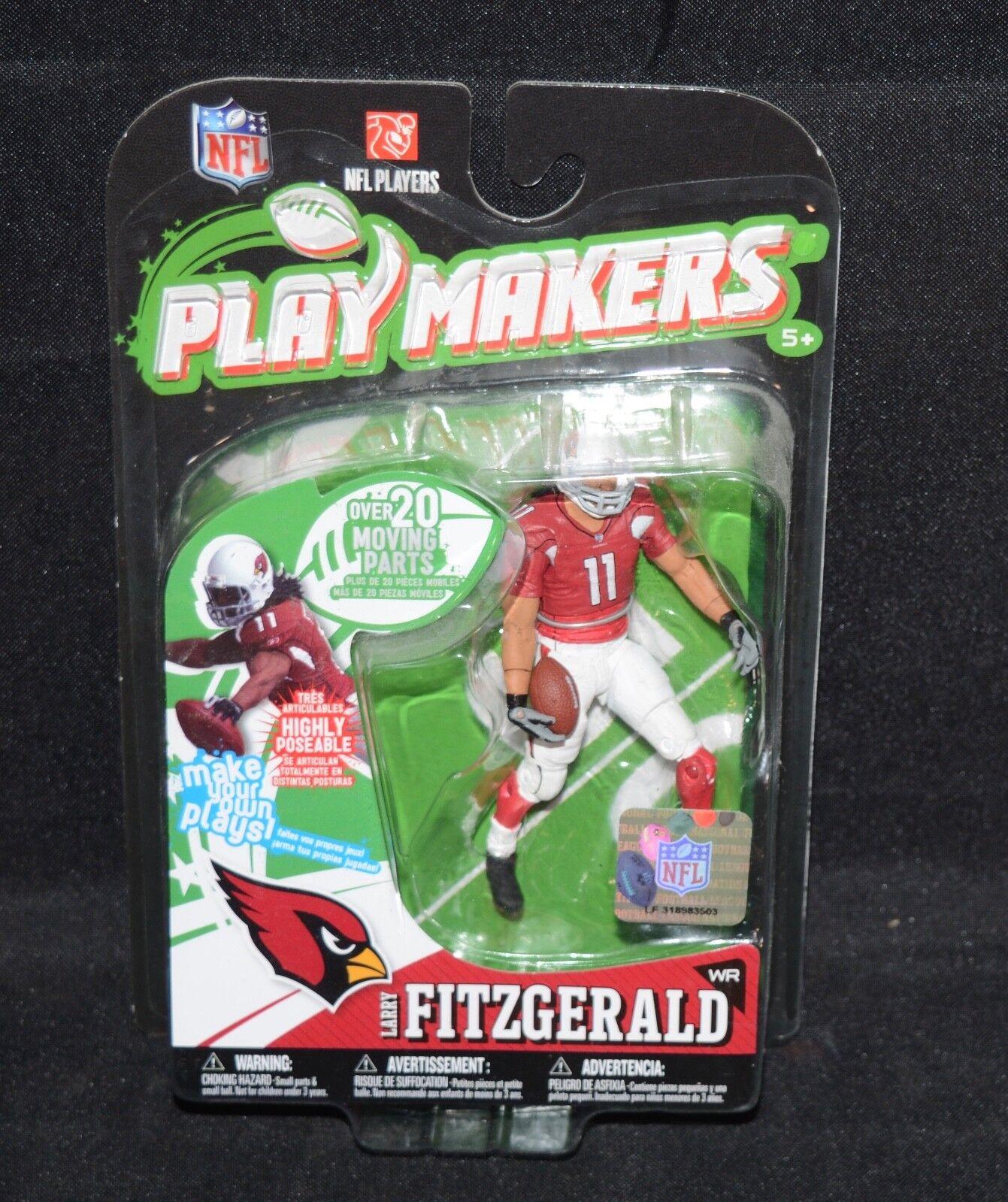 RARE LARRY FITZGERALD McFarlane PLAYMAKERS Arizona Arizona Arizona Cardinals Action Figure 54e3a5