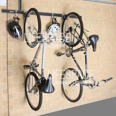 NEW Rubbermaid FastTrack Vertical Bike Wall Mounting Kit Bicycle Storage Rack