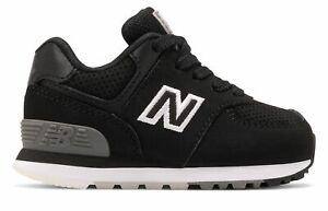 New Balance enfant 574 Chaussures Noir Avec Blanc