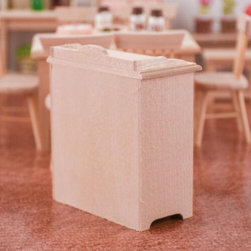 Puppenhaus Mini Holzschrank Küchenschrank für 1//12 Puppenhaus