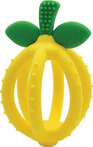 Itzy-Ritzy-Bitzy-Biter-Teething-Ball-amp-Training-Toothbrush-Lemon-Drop