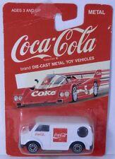 Vintage Hartoy Coca-Cola COKE Toy Car - Bedford Van White China 1/64