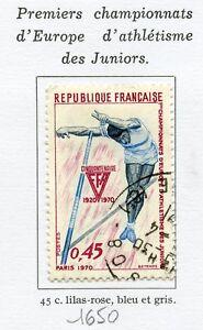 TIMBRE-FRANCE-OBLITERE-N-1650-ATHLETISME