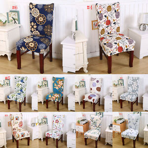 Pleasant Details About Floral Print Chair Covers Home Dining Multifunctional Spandex Chair Cover New E Inzonedesignstudio Interior Chair Design Inzonedesignstudiocom