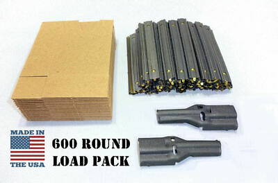 5.56//.223 Stripper Clips for Ammo Storage 10 Round Military Surplus Top Quality!