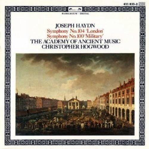 """Haydn: Sinfonie N.104 ''London'' 100 """" Military """" / Hogwood, Aam - CD"""