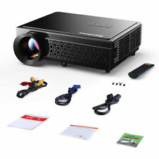 Excelvan 96+Native 3000 Lumens LED Projector 1080P HD Multimedia HDMI EU PLUG
