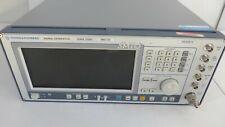 Ramps Smiq03 Signal Generator 300 Khz To 33 Ghz Rohde Amp Schwarz