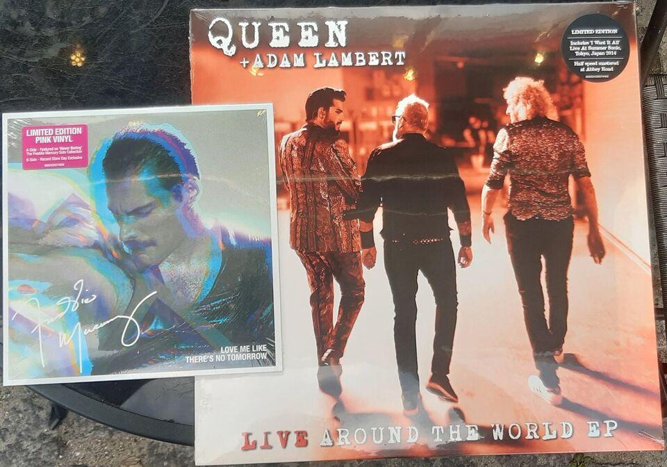 LP, Queen - Freddie Mercury, Live around the world + love me