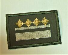 DDR Schulterstückauflage Marschallstab in gold mit 4 Splinten 40 x 28mm