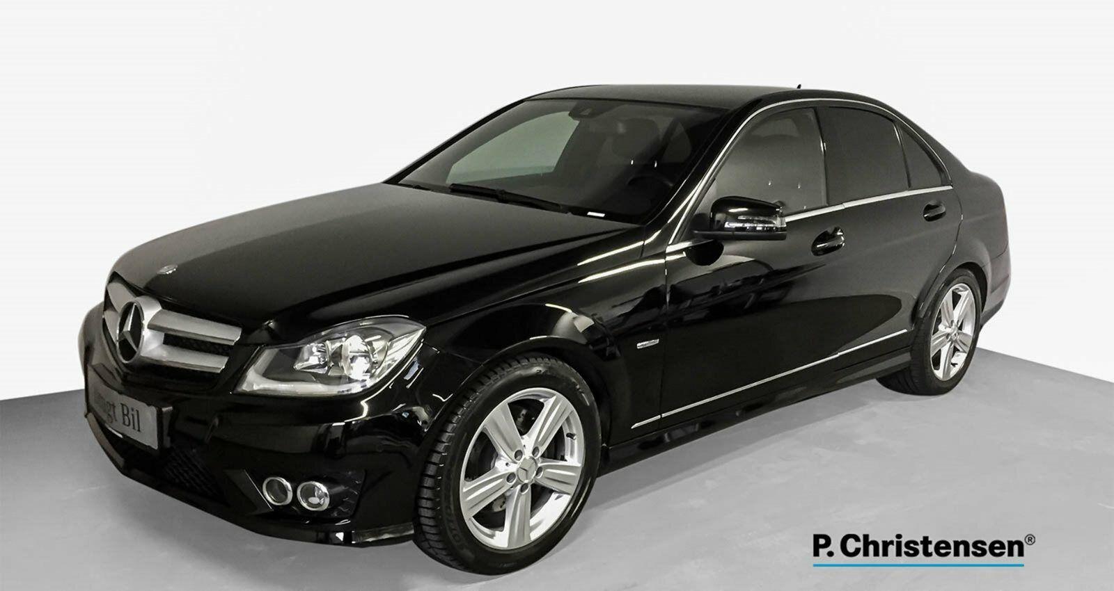 Mercedes C350 3,0 CDi Avantgarde aut. BE 4d