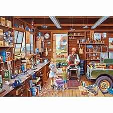 GIBSONS MADE BY GRANDPA 1000 PIECE JIGSAW PUZZLE MIKE JEFFRIES - NEW G6218