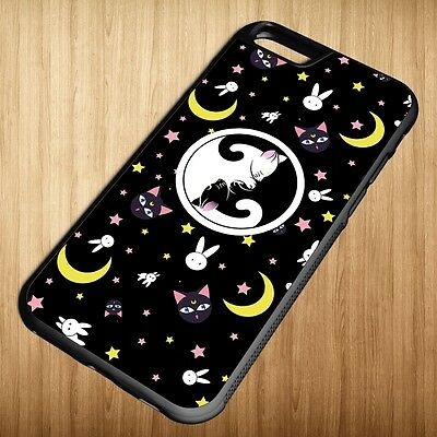 New Sailor Moon Luna Artemis Crystal For iPhone 6 6+ 6s 6s+ Case Cover