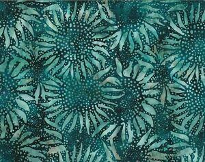 Hoffman-Batik-Bali-Chop-Sunflowers-884-577-Bayou-100-Cotton-Batik