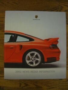 Details About 2002 Porsche Media Press Kit Boxster 911 Carrera 911 Turbo 911 Gt2 Car Photo