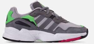 2ef316a785 Adidas Originals Men s YUNG-96 Shoes Grey Shock Pink F35020 c