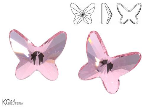 prix pour 1 pièce SWAROVSKI 2854 papillon 12 mm LIGHT ROSE