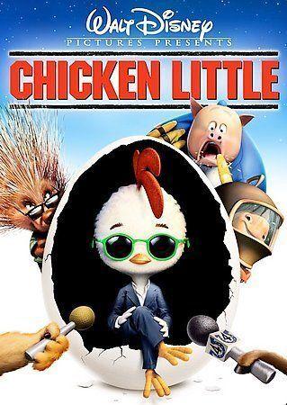 Chicken Little DVD, 2006, Widescreen  - $0.99