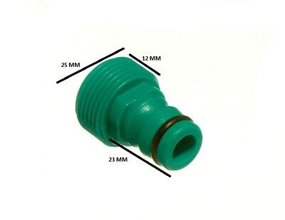 Brand New Garden Hose Pipe To Tap Connector With Jubilee Quick Fix Fitting