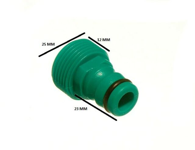 Quick fix tool snap fit garden hose tool adaptor connector pack of 200