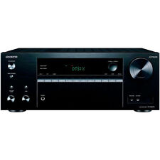 'Onkyo TX-NR575 170-Watt 7.2 Channel Network Audio/Video Receiver w/ 6 HDMI Ports' from the web at 'https://i.ebayimg.com/images/g/iggAAOSww9xZDK6O/s-l225.jpg'