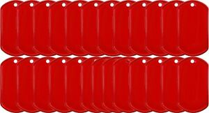 Red-Coated-Stainless-Steel-US-Military-Dog-Tag-25-Pack