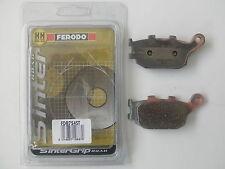 FERODO PASTIGLIE FRENO POST HONDA CBR 600 F4 / F4i Sport 1999 2000 2001 2002