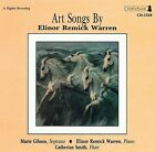 Art Songs by Elinor Remick Warren by Elinor Remick Warren (Composer) (CD, Aug-1993, Cambria)