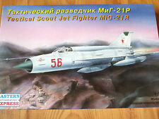 Eastern Express 1:72 MiG-21R Tactical Scout Fighter Aircraft Model Kit