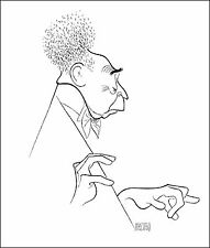 AL HIRSCHFELD Hand-Signed Limited Edition:ARTHUR RUBINSTEIN; COA by MARGO FEIDEN