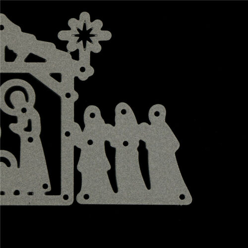 Happy Jesus/'s birth Metal Cutting Dies Stencils For DIY Scrapbooking Card MC