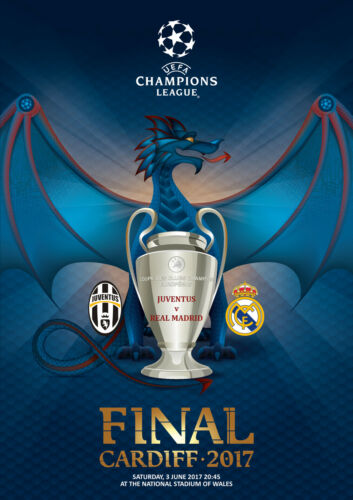 PROGRAMME PIRATE FINAL CHAMPIONS LEAGUE 2016 2017 JUVENTUS REAL MADRID
