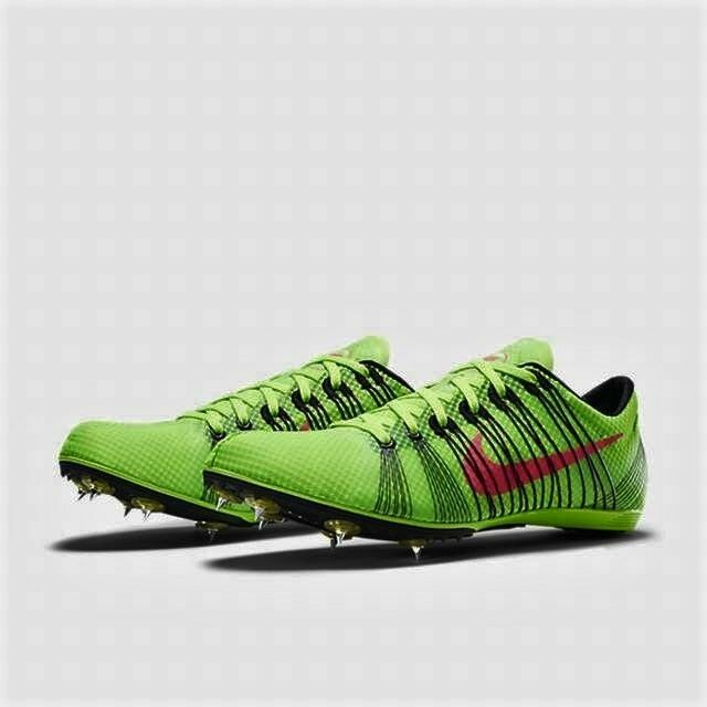New Mens Nike Zoom Victory 2 Spikes Shoes Electric Green Hyper Punch 555365-306 Cheap and beautiful fashion