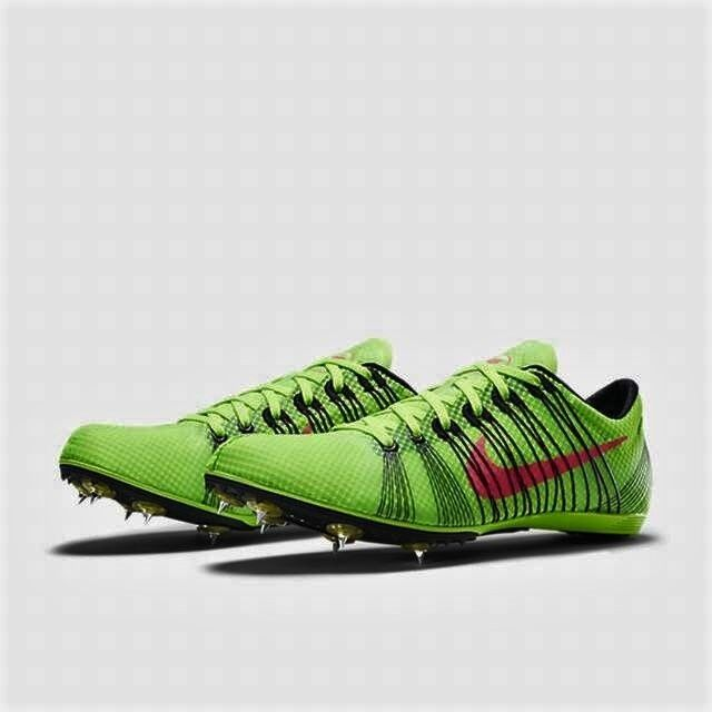 84acb2511f4 Nike Zoom Victory 2 Mens Track Spikes Mid Distance Shoes Green Size 12 for  sale online
