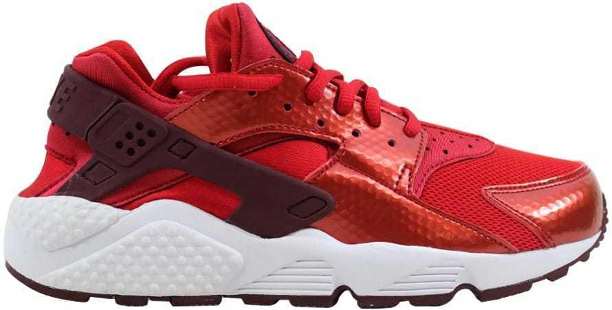 Nike Air Huarache Run University 634835-605 ouge /Night Maroon- blanc 634835-605 University femmes SZ 6 ec0af6
