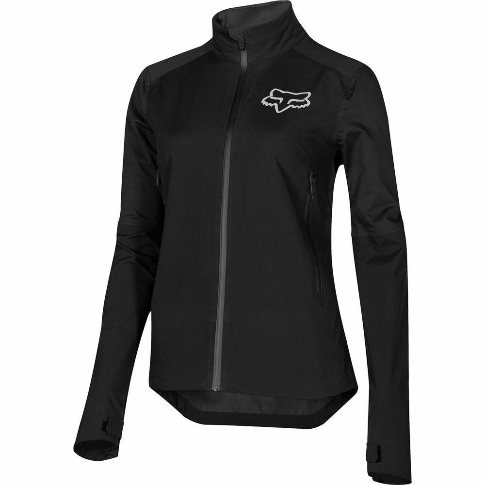 FOX RACING Mujer ataque  De Agua Ciclismo de Montaña Chaqueta Negro Pequeño S2205-001-S  punto de venta barato