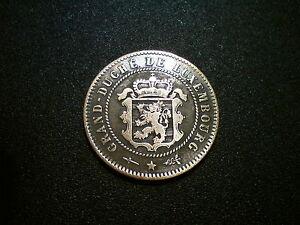 1854 Luxembourg 5 Centimes Pièce. Superbe Qualité Au-afficher Le Titre D'origine à Distribuer Partout Dans Le Monde