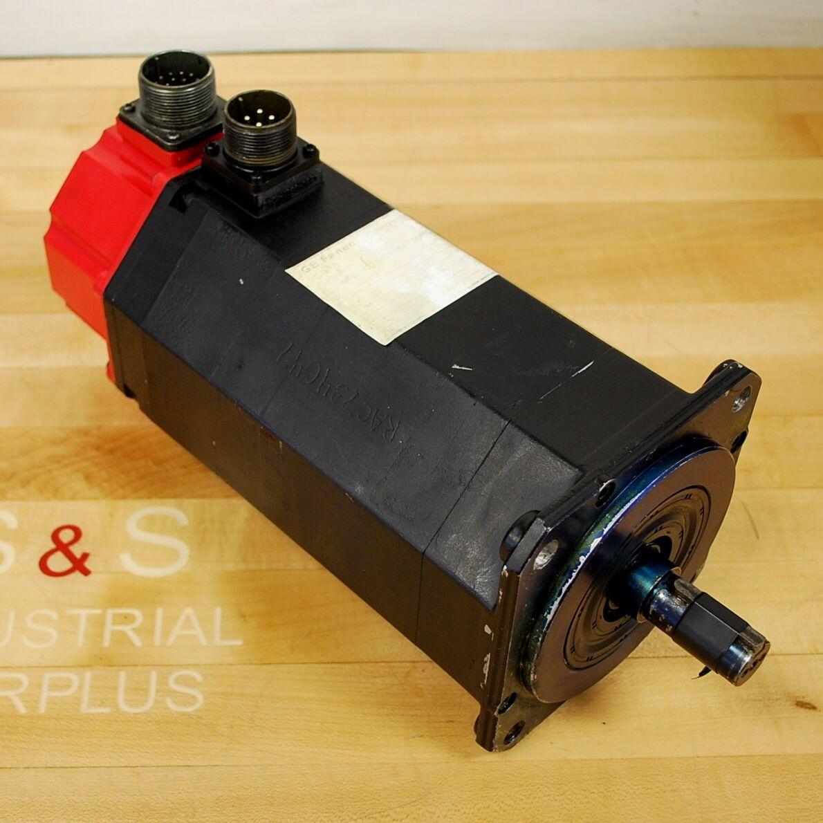 Fanuc A06B-0314-B505Ac Motor. Model-5S 3000, Rpm 3000 - USED