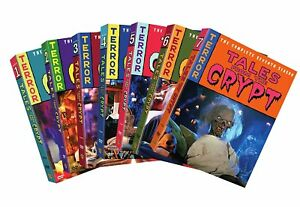 Tales-from-the-Crypt-The-Complete-Seasons-1-7-DVD-2008-7-Disc-Set-Closed-Ca