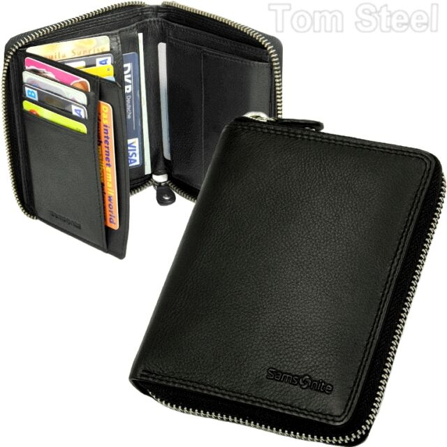 samsonite uomo-rv-borsa cerniera portafoglio portafoglio portafoglio