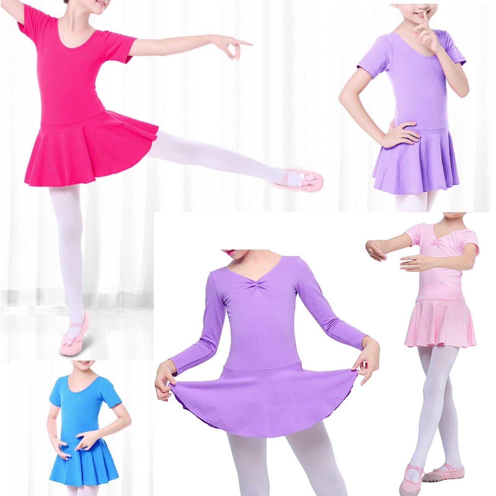 Vestito Tutù Body Lezione Danza Bambina Girl Ballet Tutu Dress DANC122