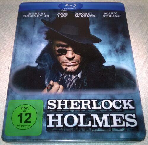 Sherlock Holmes (2009, Germany, Region Free) Steelbook With Slipcover by Ebay Seller