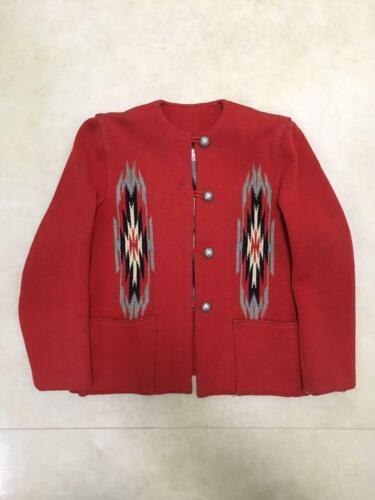 GANSCRAFT 50'S Chimayo Blanket Jacket Ortega USA M