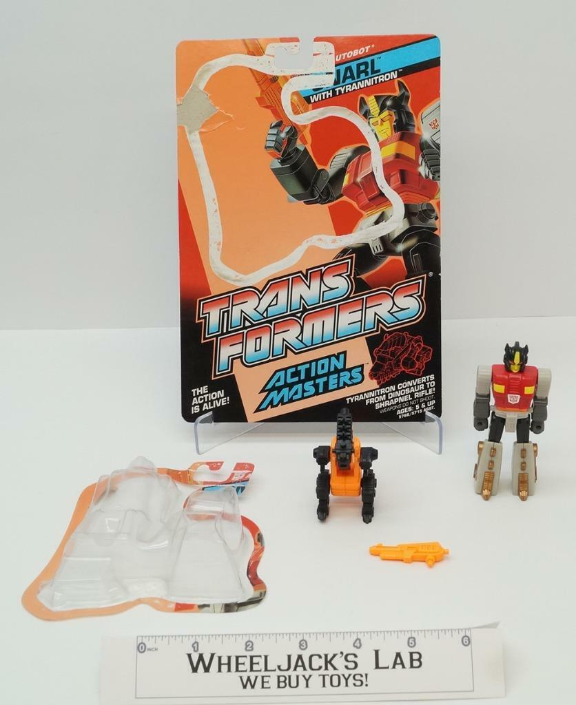 Snarl Action Master With BUBBLE Vintage Hasbro 1990 G1 Transformers Figure