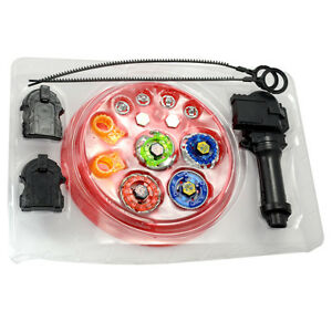 4D Launcher Grip Beyblade Set Metal Master Fusion Top Rapidity Fight Kit Toys