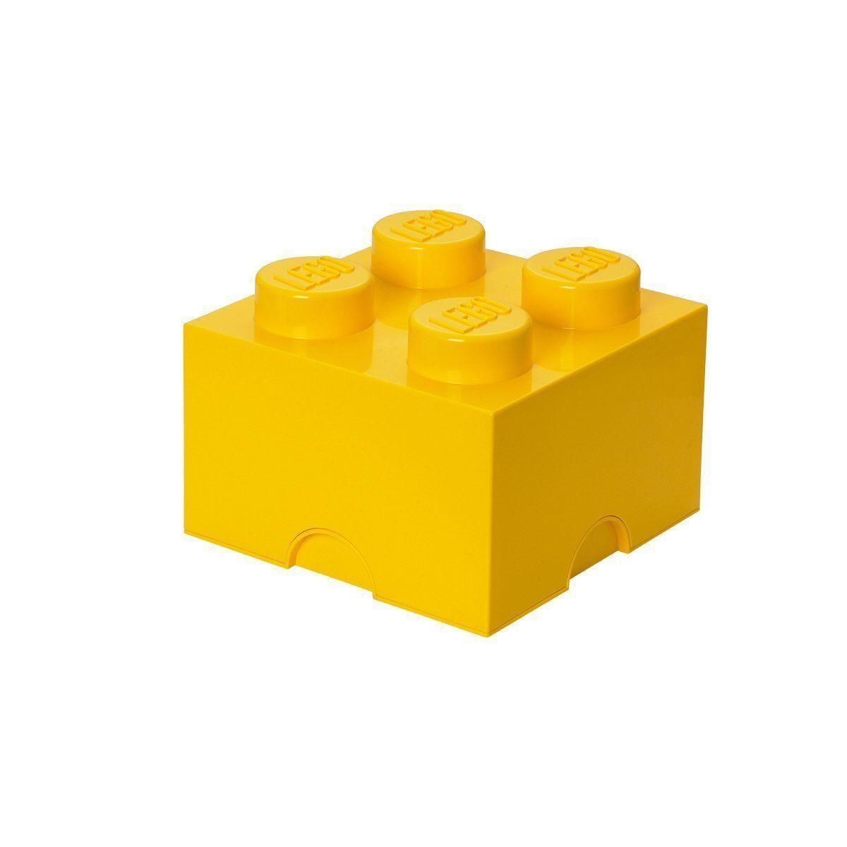 Lego 40031732. Brique Lego Géant Jaune Récipient pour garder jouets