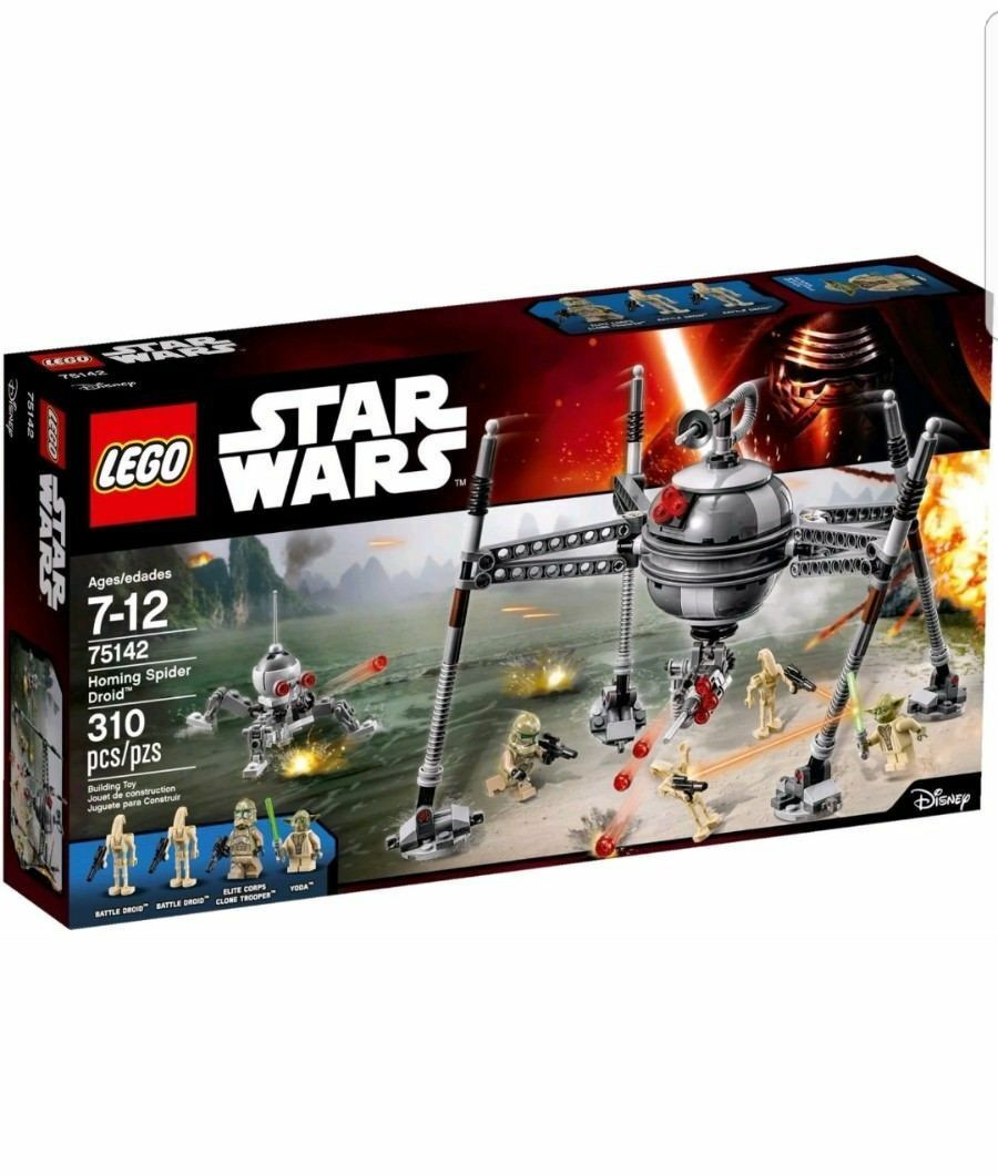 NEW Sealed LEGO LEGO LEGO Star Wars Homing Spider Droid inc  75142 e00456